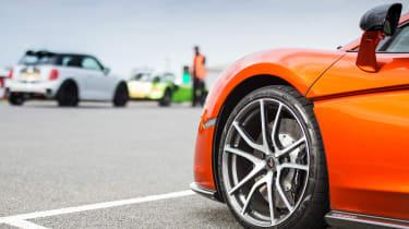 McLaren 570GT long term second report - wheel