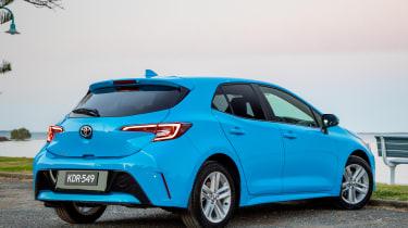 Toyota Corolla - rear