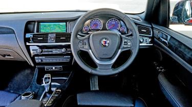 Alpina XD3 - interior