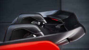 McLaren Senna prototype - rear wing