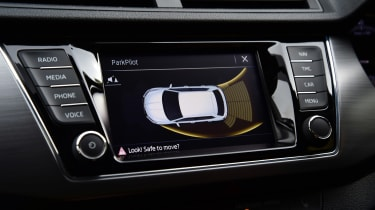 Skoda Fabia SE L: long-term test review - first report parking sensors