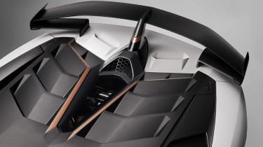 Lamborghini Aventador SVJ 63 - rear wing