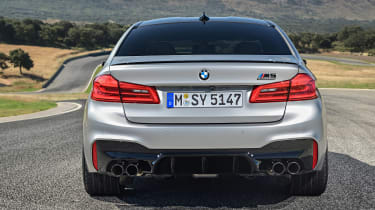 BMW M5 Competition - full rear static