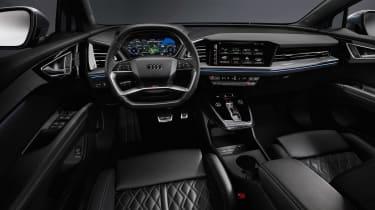 Audi Q4 e-tron - dash