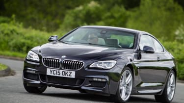 Used BMW 6 Series - front action