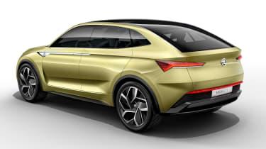 Skoda Vision E Concept - rear