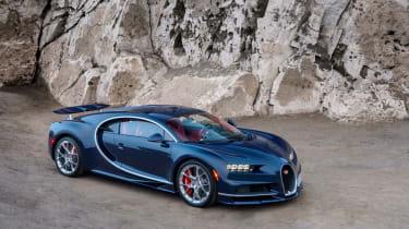 Bugatti Chiron - The Quail front quarter 4