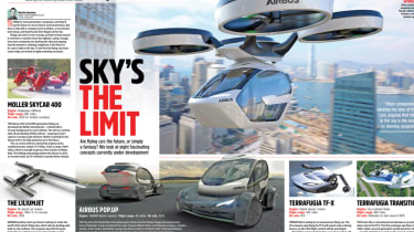 Best motoring features of 2017 - Flying cars