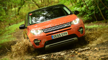 Land Rover Discovery Sport long-term - mud