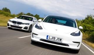 Tesla Model 3 vs BMW 3 Series - header