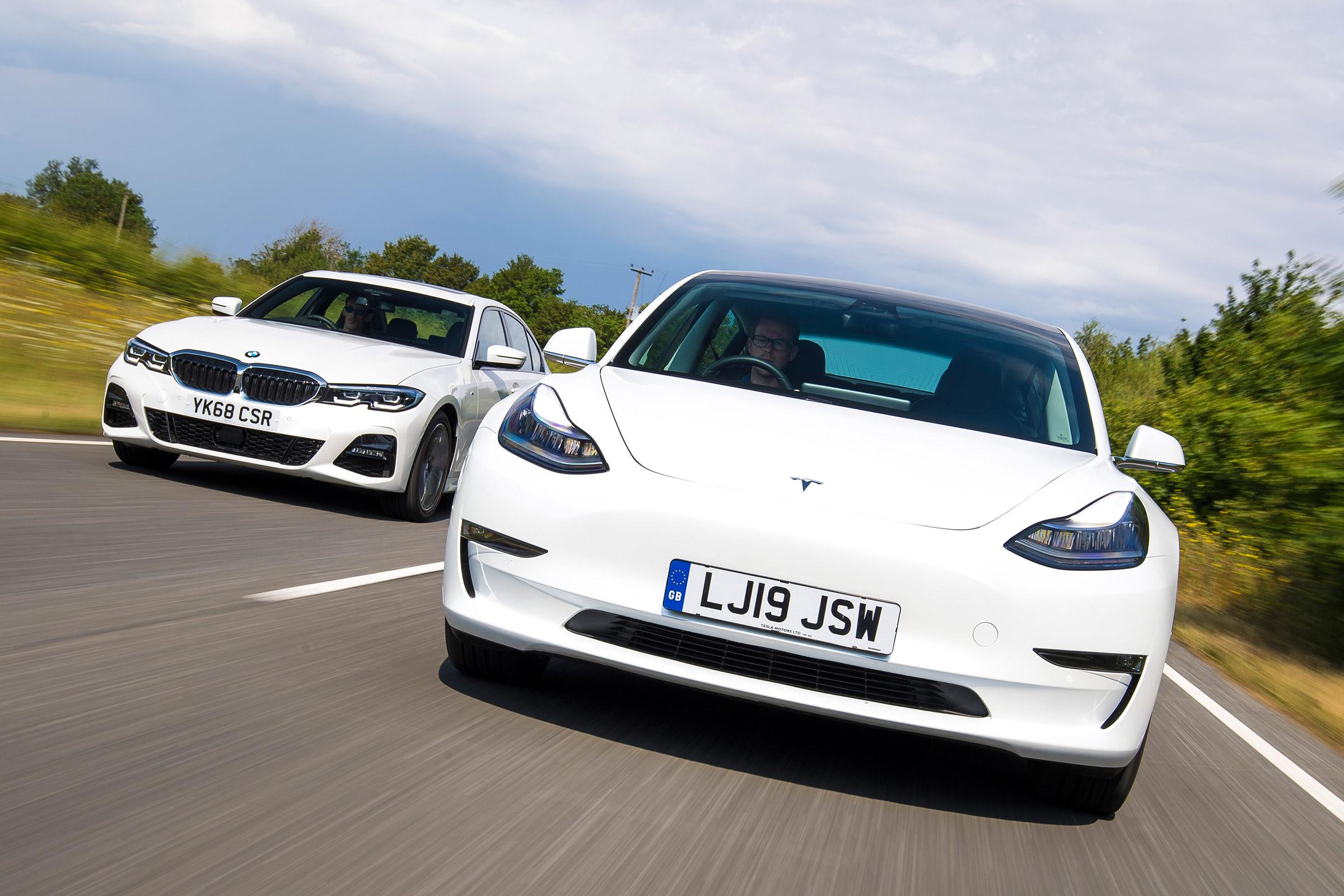 Tesla Model 3 vs BMW 3 Series: electric car vs diesel ...