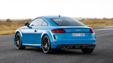 Audi TT S - rear static