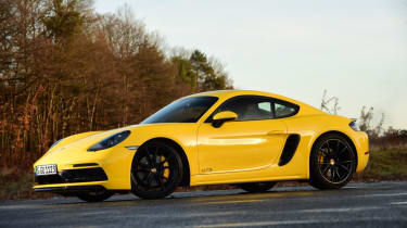 New Porsche Cayman GTS review - front static