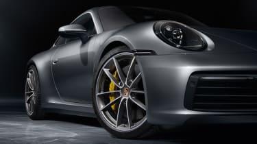 Porsche 911 - front detail