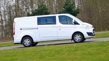 Ford Transit action