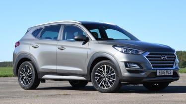 Hyundai Tucson 48v - front static