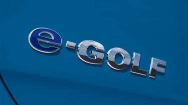 Volkswagen e-Golf 2014 badge