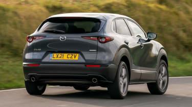 Mazda CX-30 e-Skyactiv X - rear cornering