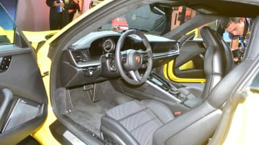 Porsche 911 - LA dash