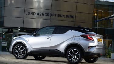Toyota C-HR - rear static