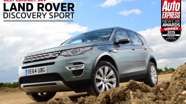 Land Rover Discovery Sport - awards