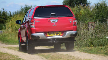 Mitsubishi L200 Long-term test review - rear