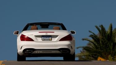 Mercedes SL400 - rear action