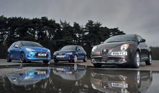 Alfa Romeo MiTo vs rivals
