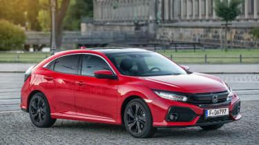 Honda Civic 1.6-litre diesel - front static