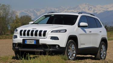 Jeep Cherokee diesel 2014 static