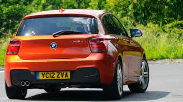 BMW 125d M Sport rear tracking