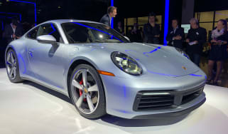Porsche 911 - LA Motor Show -  front