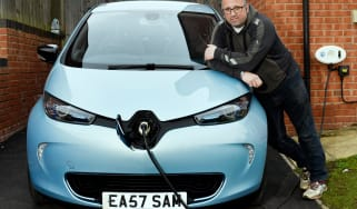 Electric car case study - Renault ZOE Sam East header