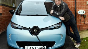 Electric car case study - Renault ZOE Sam East header