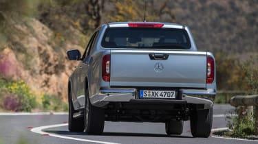 Mercedes X-Class - rear action