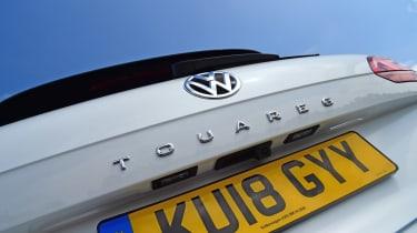 Volkswagen Touareg - rear detail