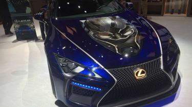 Detroit Motor Show - Lexus LC 500