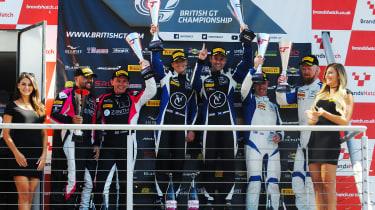 British GT 2018 - Brands Hatch podium