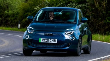 Fiat 500 - tracking front