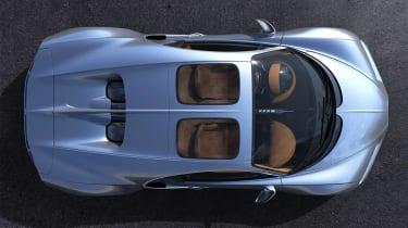 Bugatti Chiron Sky View - above