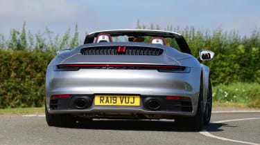 Porsche 911 Cabriolet - rear cornering