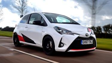 Toyota Yaris GRMN - front