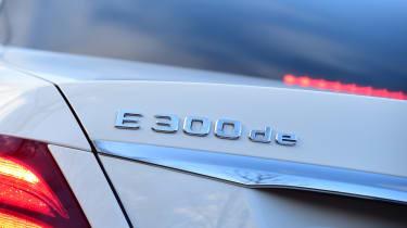 Mercedes E 300 de - long-term review - badge