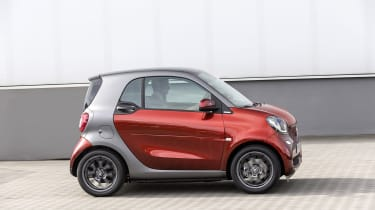 Smart ForTwo - side