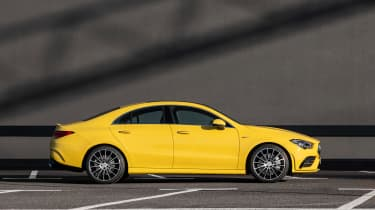 Mercedes-AMG CLA 35 - side static