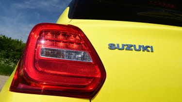 Suzuki Swift Sport - taillight
