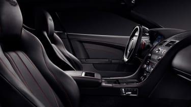Aston Martin DB9 Carbon Black - interior