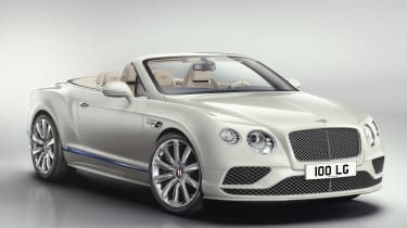 Bentley Continental GT Mulliner Galene Edition front quarter