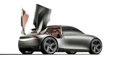 Genesis Mint Concept - rear doors open studio
