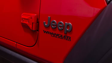 Jeep Wrangler 1941 - side detail